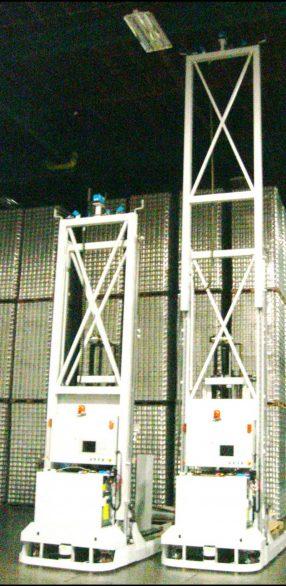 Amerden AGVS Unit load