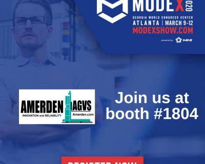 Amerden AGVs Modex 2020